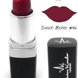 Vivien Kondor Vegan Friendly Cruelty Free Matte Lipstick - 46 Sheer Berry
