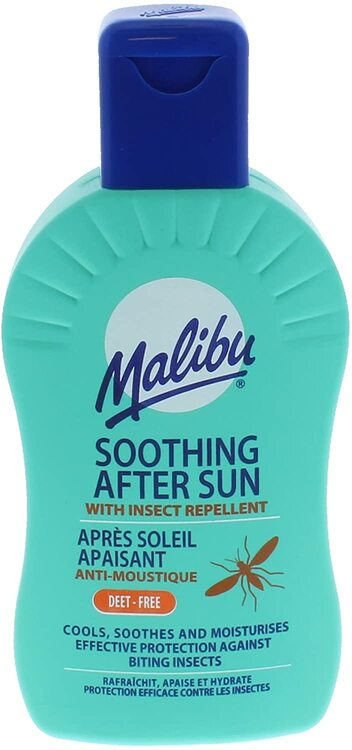 Malibu Moisturising After-Sun Lotion with Insect Repellent
