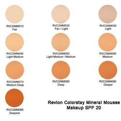 RevlonColorstayMineralMousseMakeupSPF20- 040 Light Medium