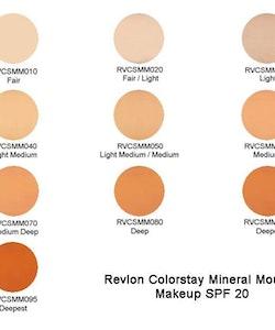 RevlonColorstayMineralMousseMakeupSPF20- 070 Medium Deep