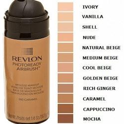 Revlon Photoready Airbrush Mousse Makeup - 080 Caramel