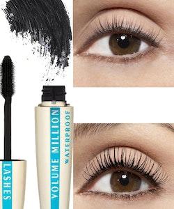 L'Oreal Volume Million Lashes Mascara - Waterproof & Black