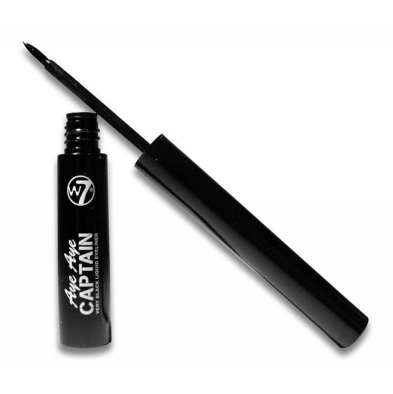 W7 AYE AYE CAPTAIN Very Black Liquid Dip Eyeliner