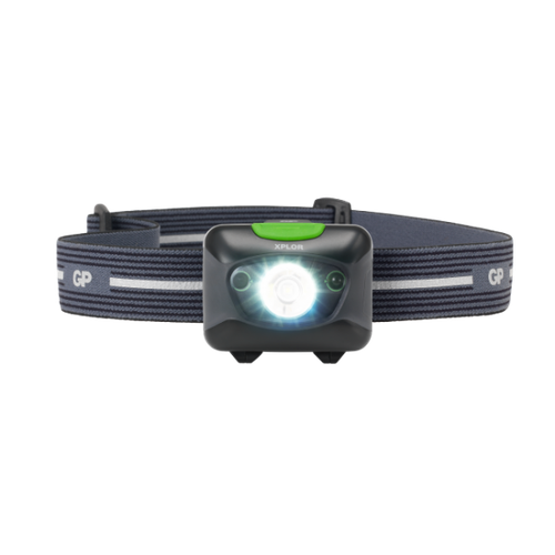 GP Xplor – Laddningsbar pannlampa Andromeda PHR15