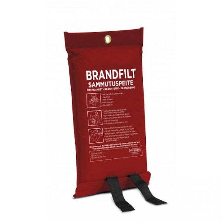 Housegard brandfilt, 120×180 cm, röd