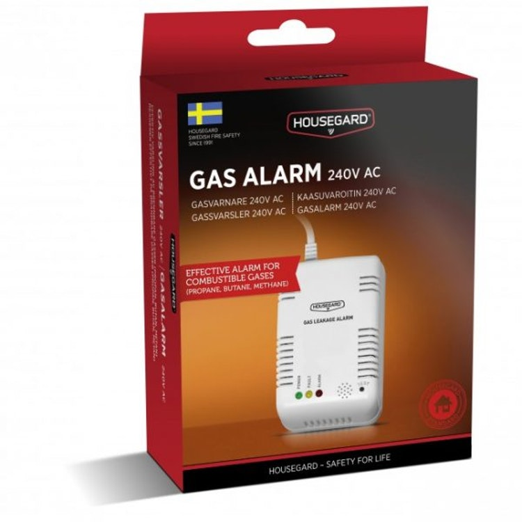 Housegard gasvarnare, 230V, GA101S