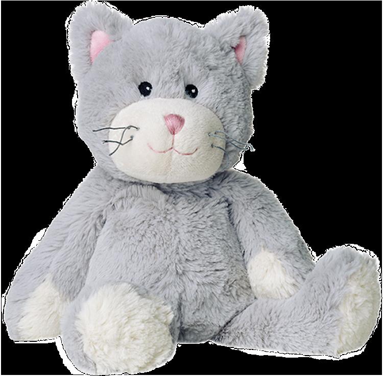 Grå Katt – Warmies