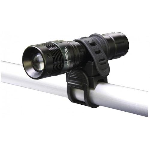 Emos ficklampa P3839 , fokuserbar med cykelhållare