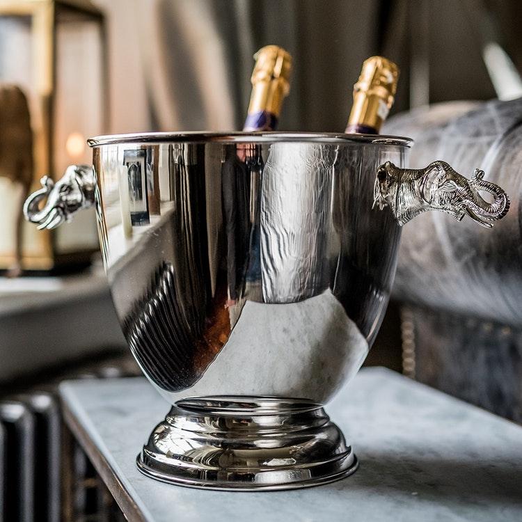 EXKLUSIVE LARGE ELEPHANT WINE COOLER
