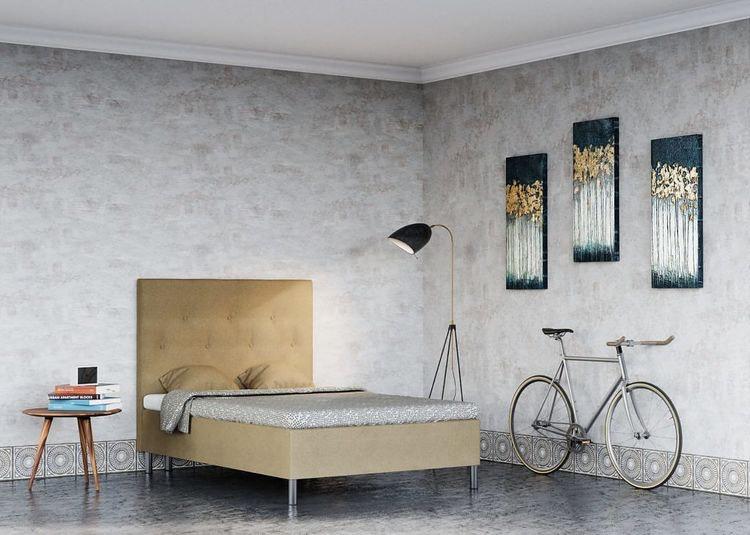 Viva Luxery Collection Storm Velvet/Sammet Sängpaket Flera färger