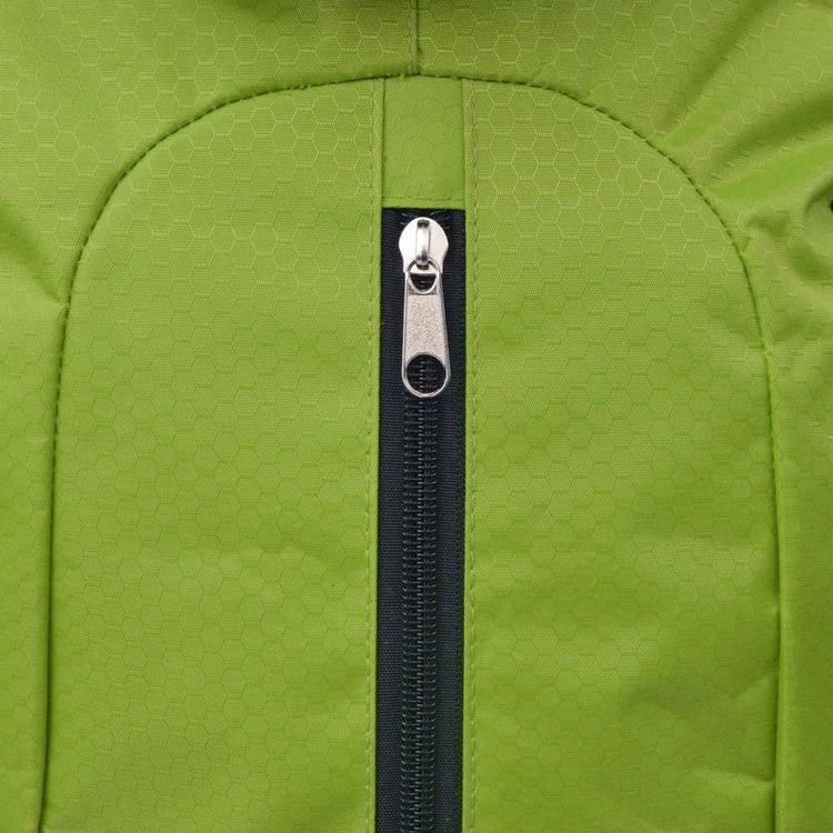 Vandringsryggsäck XXL 75 L Svart och grönt