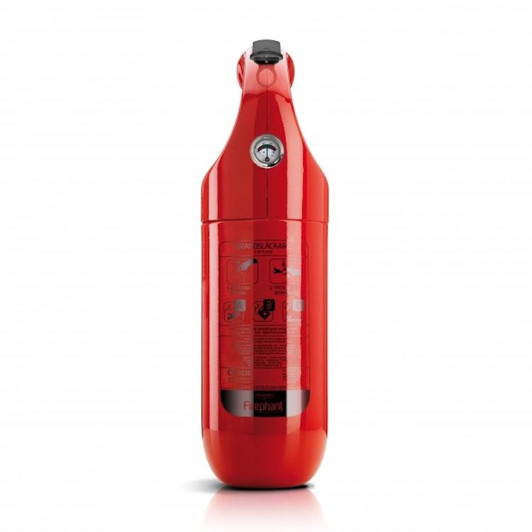 Firephant 2 kg pulversläckare, röd eller vit