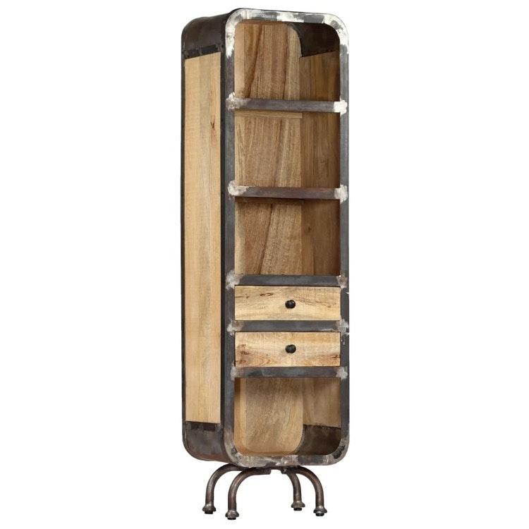 Highboard 40x30x145 cm Massivt Mango Wood