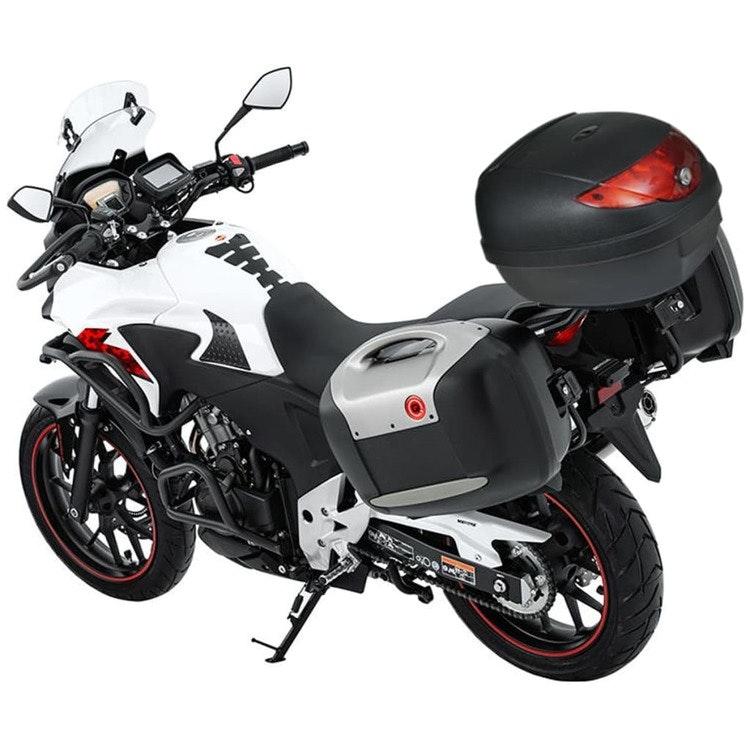 Motorbike Top Case 36 L för enkel hjälm