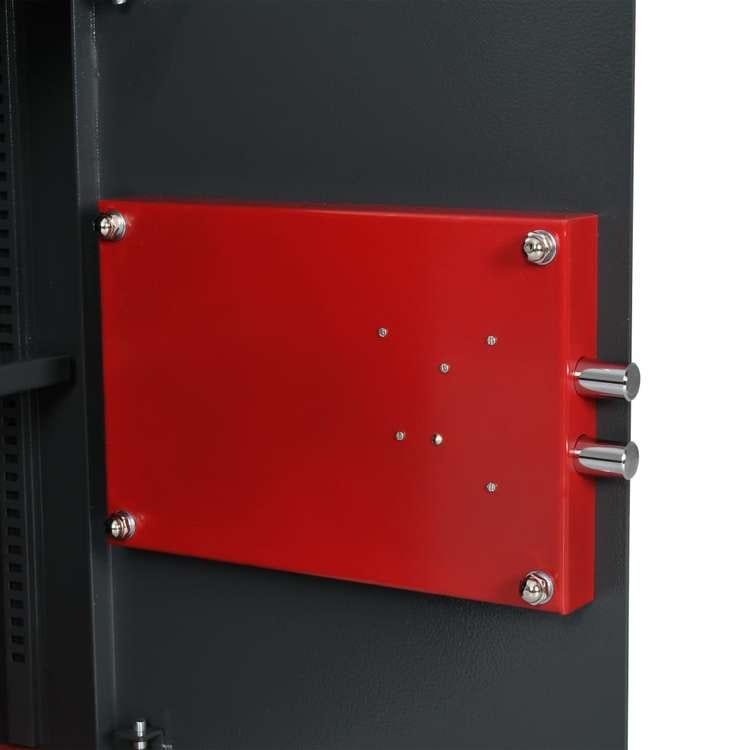Mechanical Safe Mörkgrå 35x31x50 cm stål