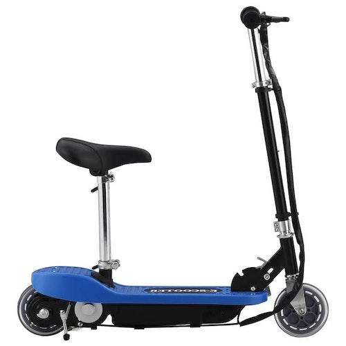 Electric Scooter med Seat 120 W Blue