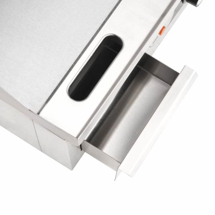 Stekbord Stainless Steel 2000 W 36x47x22 cm