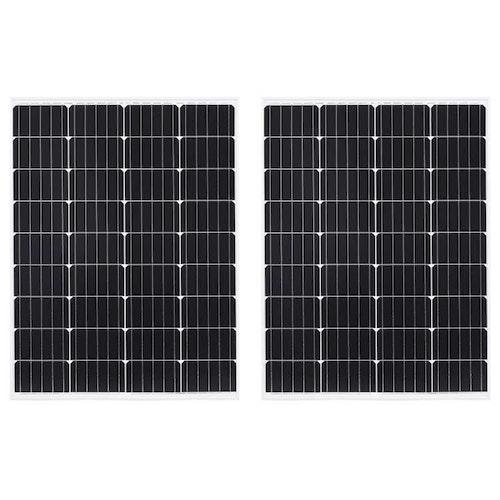 Sol Panel 10,20,30,40,50,80,100,120 W aluminium och säkerhetsglas