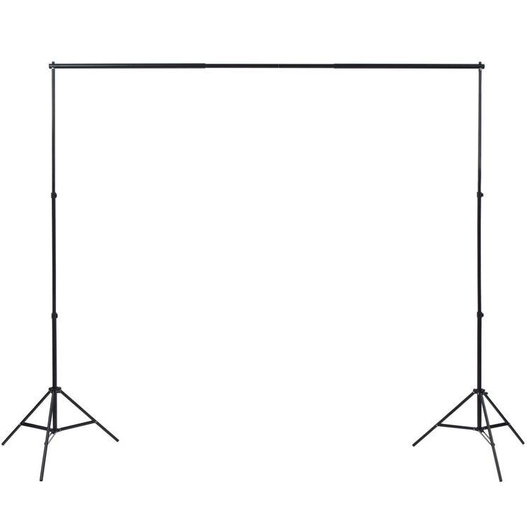 Photo Studio Kit med fotograferingsbordslampor och bakgrunder