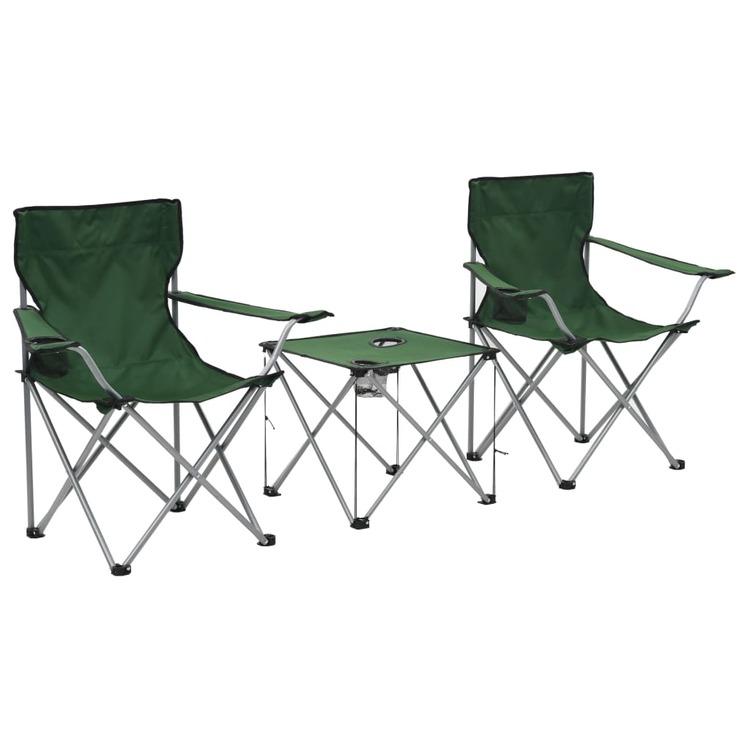 campingbord med stolar