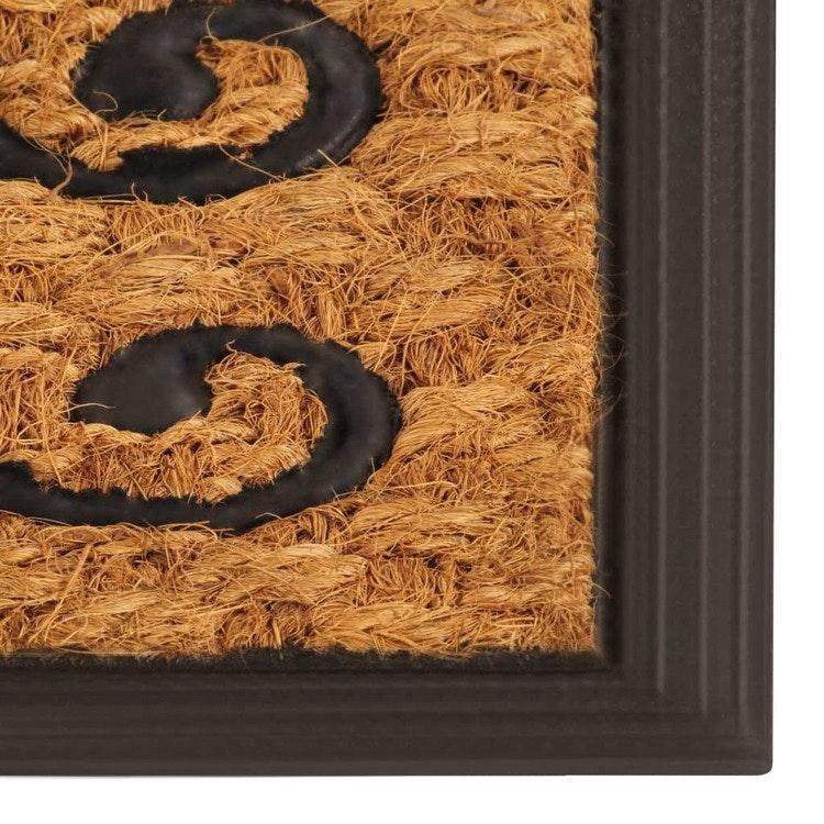 Dörrmatta kokos och gummi 45x75 cm