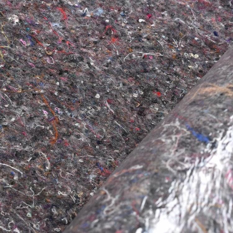 Målarmatta halkfri 2 st 50 m 180 g/m² grå ( Totalt 100 m )