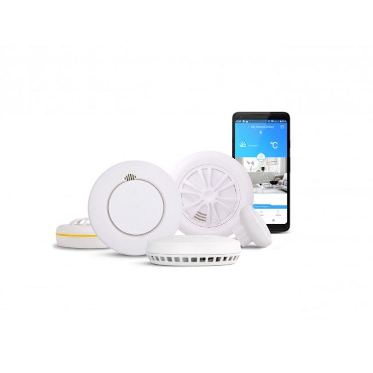Housegard Note GW124NX Hub Wifi + SA424WS Smart Brandvarnare