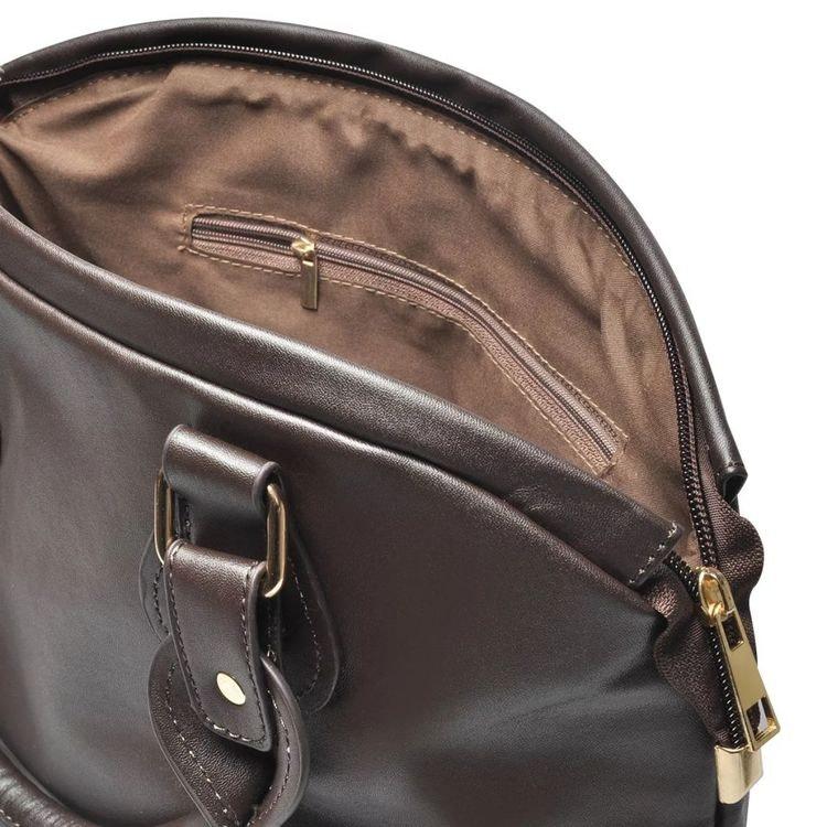 Mörkbrun Väska