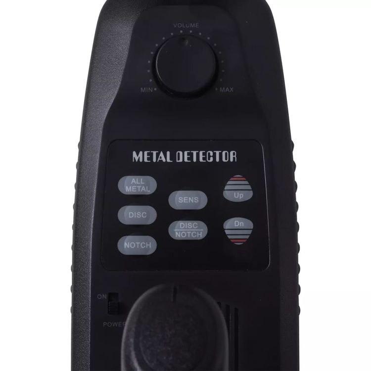 Metalldetektor 20 cm Sökdjup 300 cm LCD-skärm