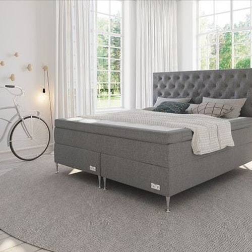 Visby Kontinentalsäng Sängpaket med Paula gavel
