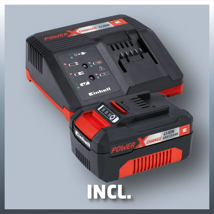 Einhell trådlös kedjesåg inkl laddare & batteri