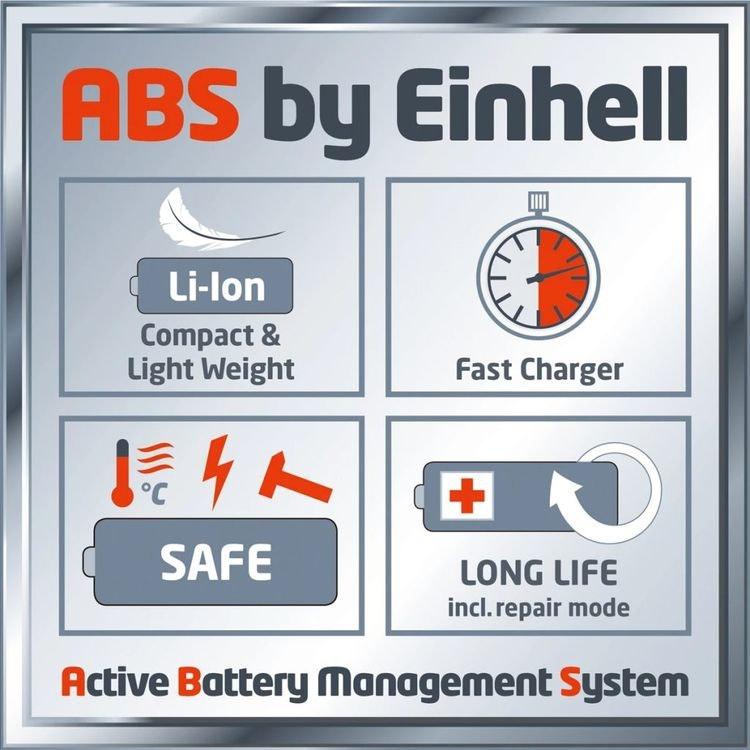 "Einhell trådlös lövblåsare ""GECL 18 Li E Kit"" Inkl batteri/laddare"