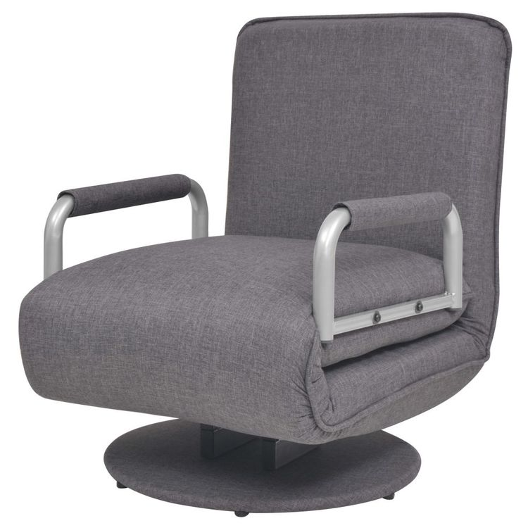 Chair Seat for inflatable Boat adjustable backrest gray