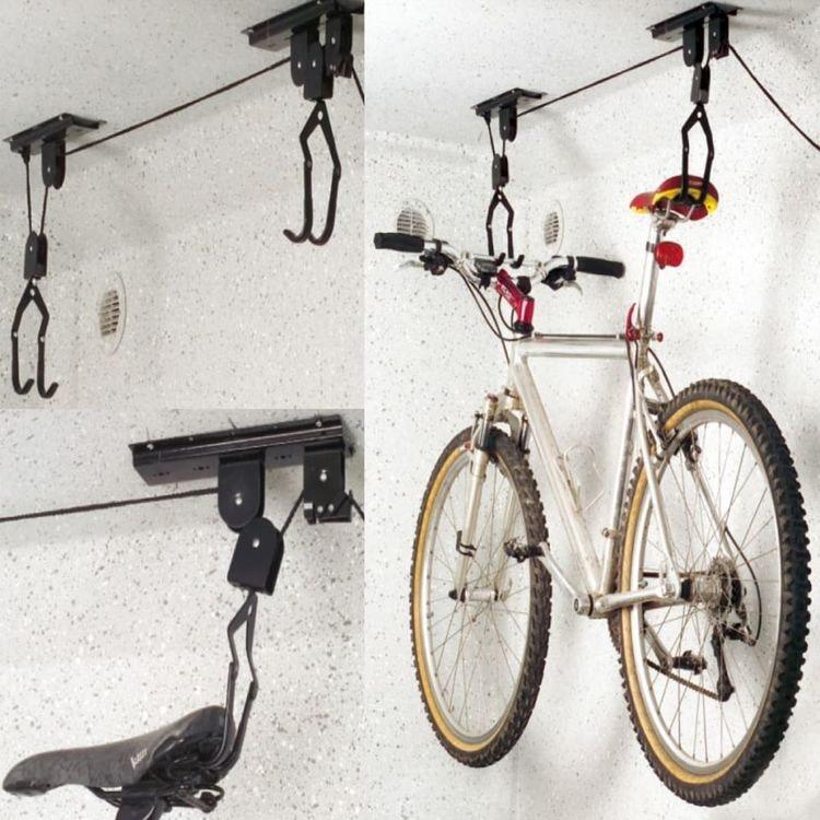 Takmonterad cykelhiss
