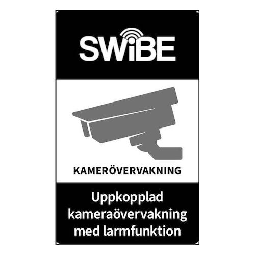 SWIBE Kamera skylt