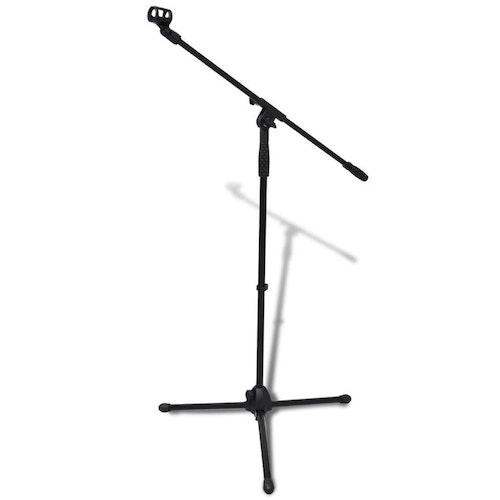Justerbart mikrofonstativ