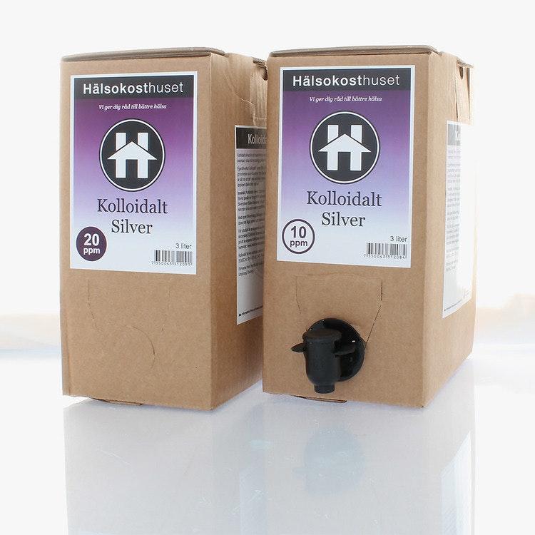 Kolloidalt Silver 10ppm 3L Bag in Box