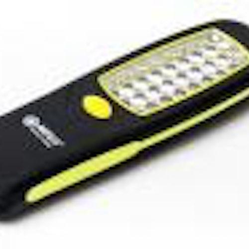 5-pack Arbetslampa, 24st LED, med magnet och krok, AA batteri