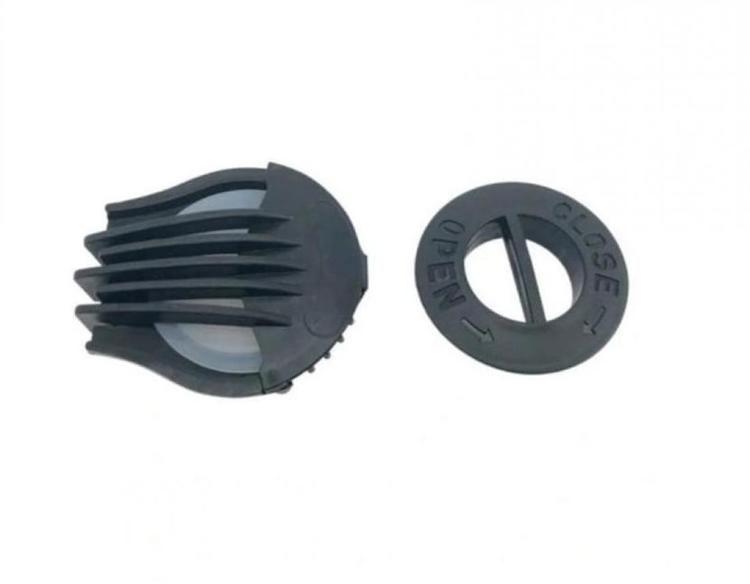 2 st Andningsventiler för andningsskydd/mask, skyddar mot virus bakterier m.m. MP 2.5 FFP2 N95