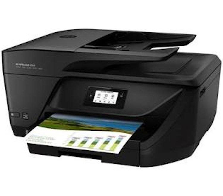HP OfficeJet 6950 Inkjet, Print/Copy/Scan/Fax, Wifi/USB/ 16ppm, 225 sheets