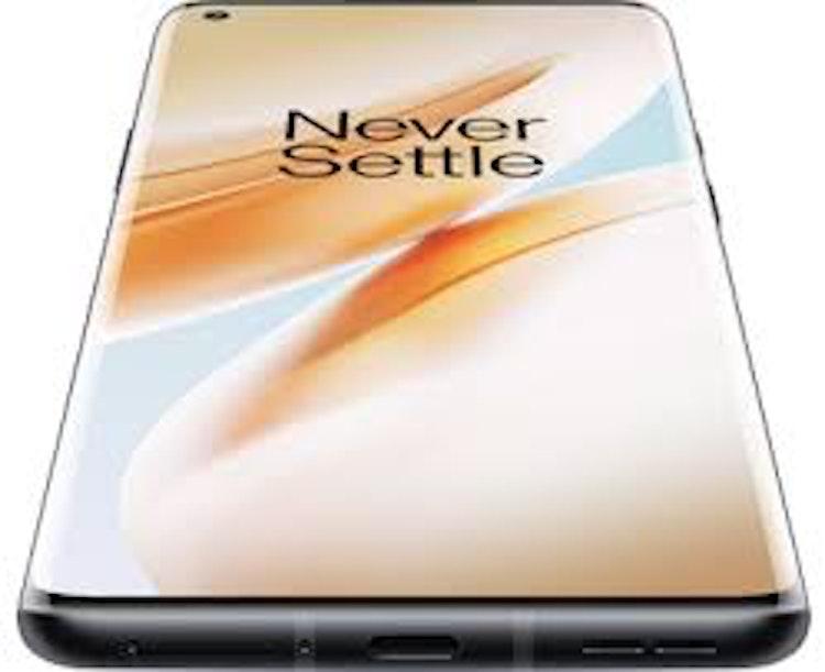 OnePlus 8 Pro 8GB+128GB Onyx Black Smartphone, 6.78'' QHD+skärm, 48MP+48MP+8MP+5MP kamera, Android 10