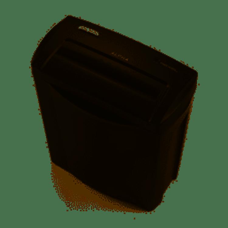 Rexel dokumentförstörare Alpha P4 Säkerhetsnivå P4 korsklippning. Forstör upp till 5 ark samtidigt. 14L. behållare