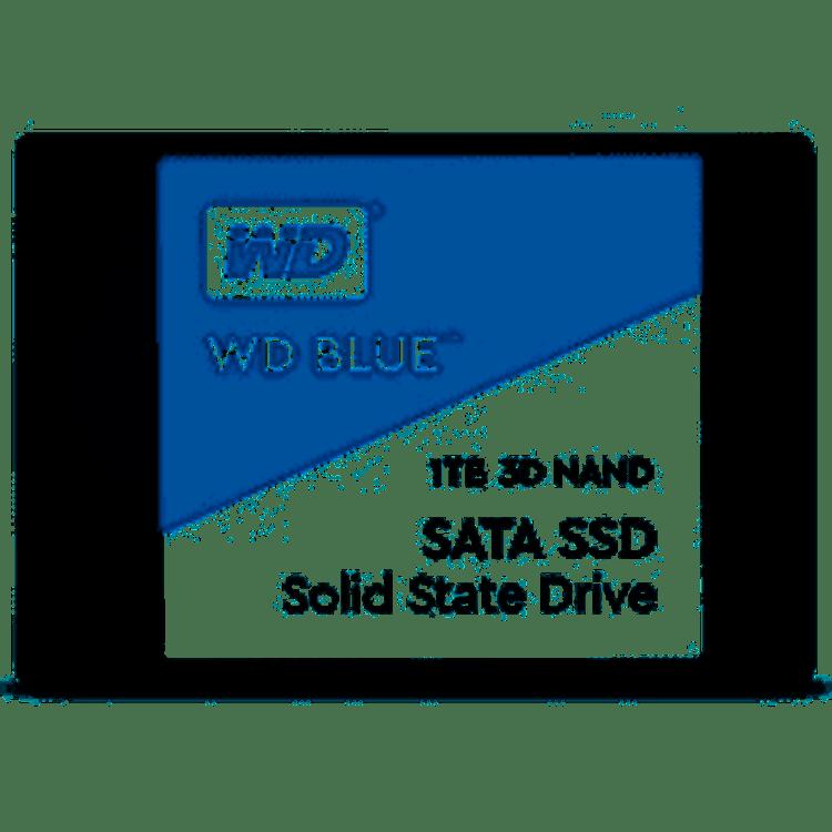 "WD Blue 3D 1TB 2.5"" SSD SATA6.0Gbps, 3D NAND, 560/530 MB/s Read/Write, 7mm"