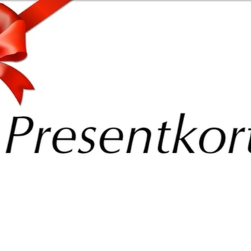 Presentkort Belopp från 100 kr