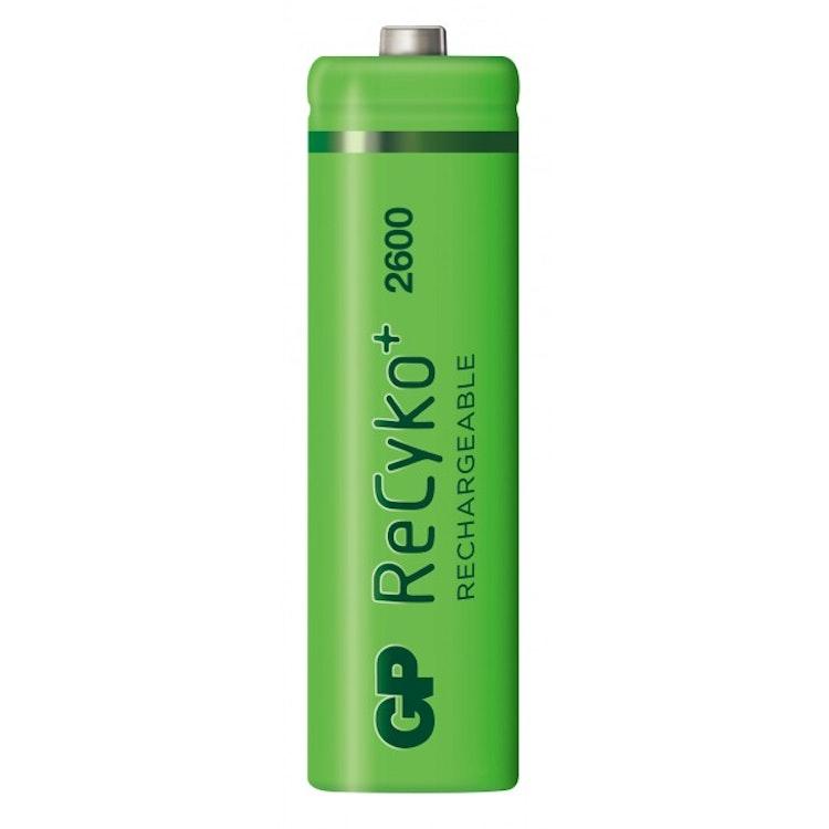GP Recyko AA-batteri, 270AAHCMPL-2WB4/R6, Paper box