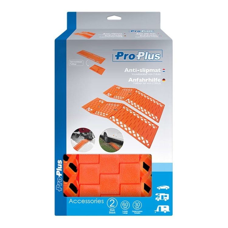 ProPlus fällbara dragmattor 2 st
