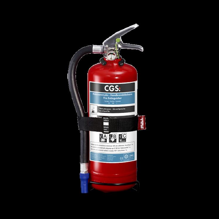 CGS 2 kg pulversläckare, PE2TGH-CGS FI/SE