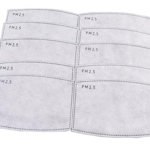 Filter för andningsskydd/mask 10st PM 2,5