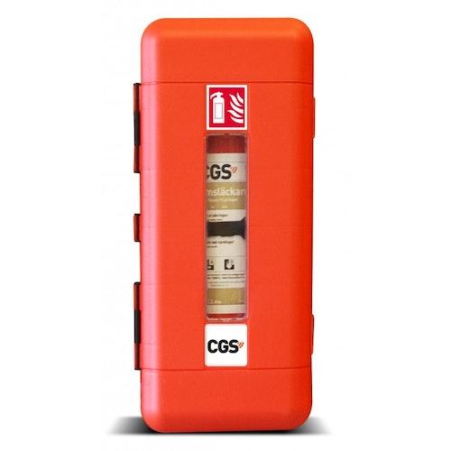 CGS brandsläckarskåp för 6-9 l skumsläckare