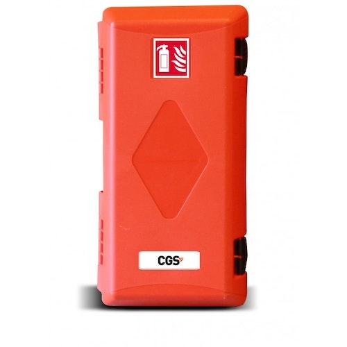CGS brandsläckarskåp PRO för 6 kg släckare